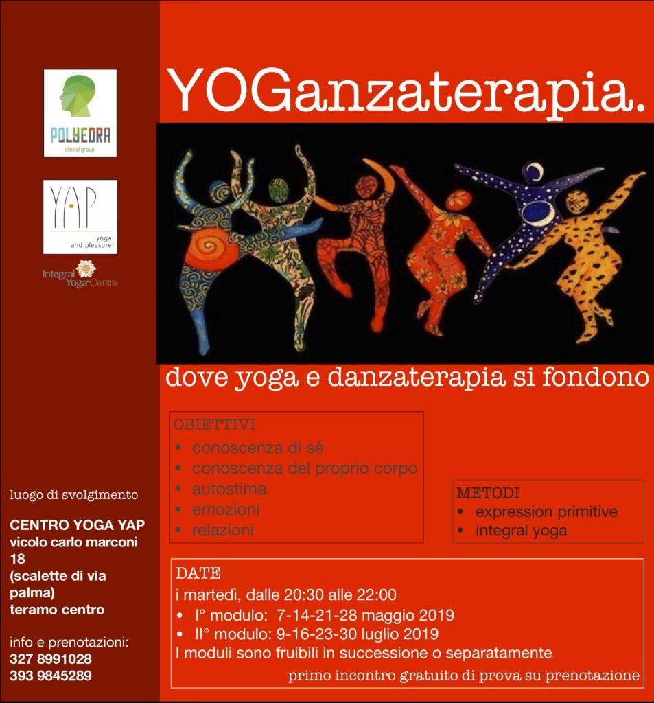 YOGanzaterapia. Dove yoga e danzaterapia si fondono