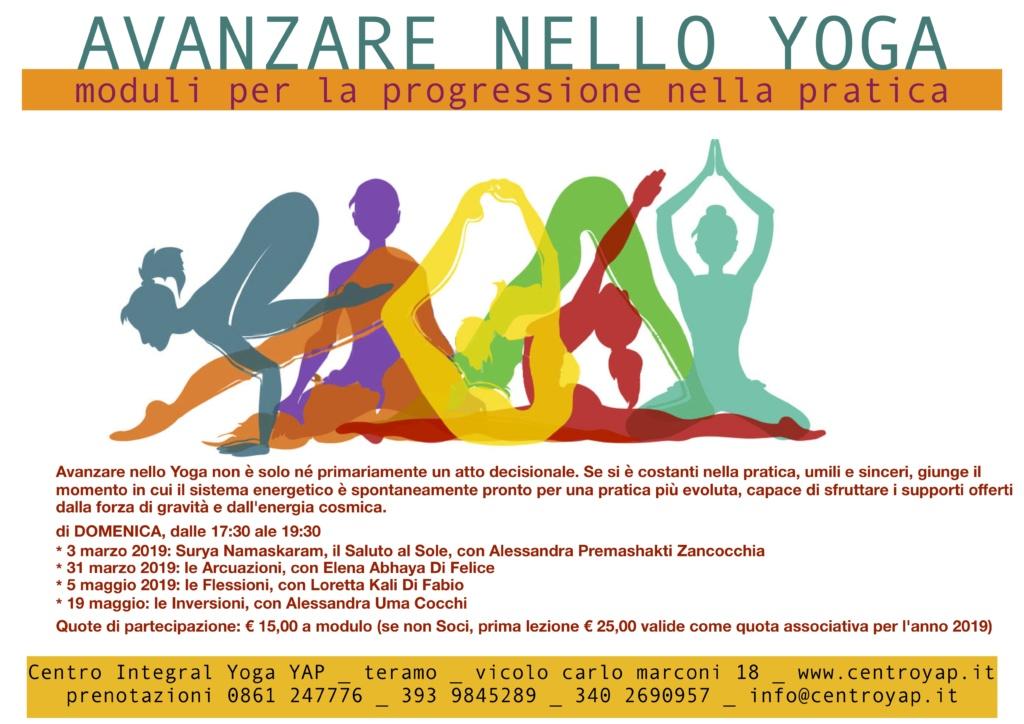 Avanzare nello Yoga - Moduli per la progressione nella pratica