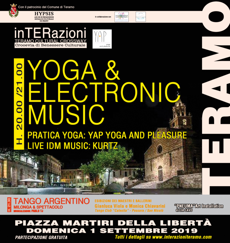 inTERazioni - Yoga & Live Electronic Music