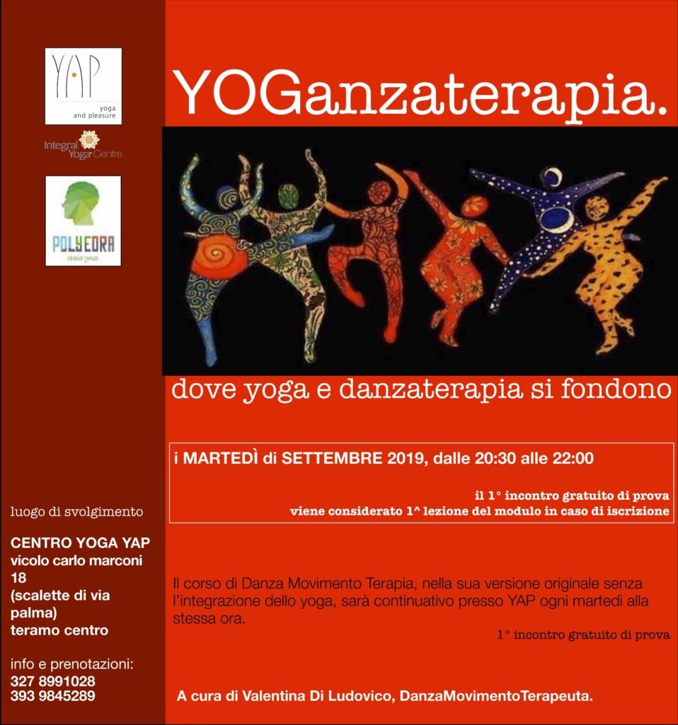DanzaMovimentoTerapia e YOGanzaterapia