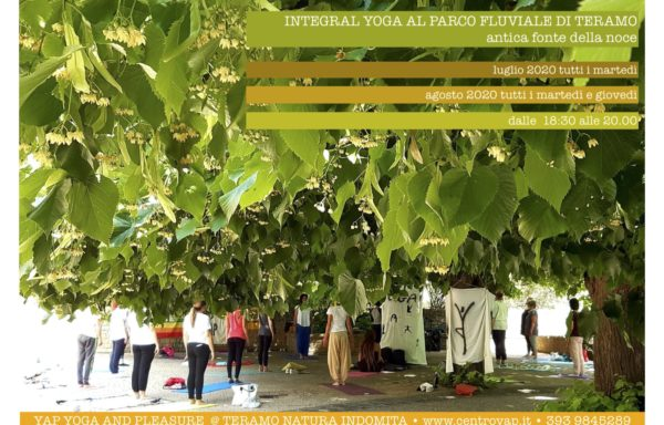 Integral Yoga al Parco Fluviale per Teramo Natura Indomita