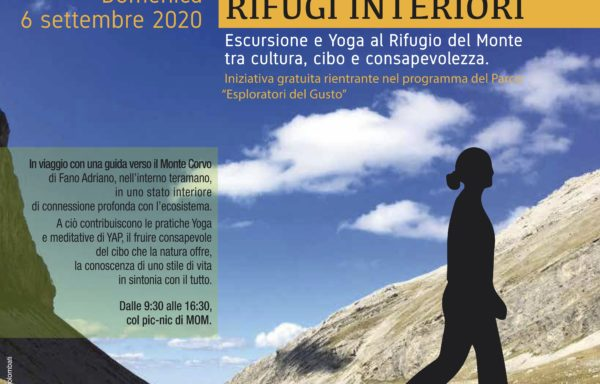 RIFUGI INTERIORI. Escursione e Yoga al Rifugio del Monte tra cultura, cibo e consapevolezza
