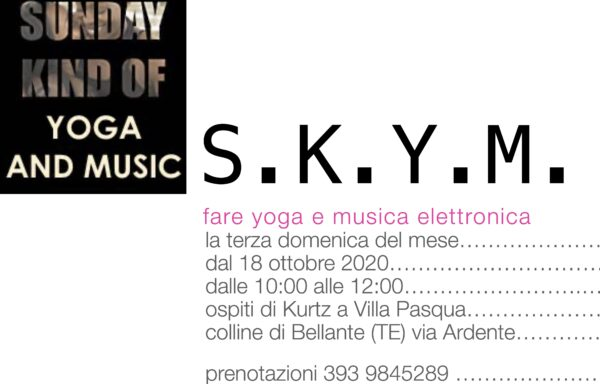 S.K.Y.M. – A Sunday Kind of Yoga and Music