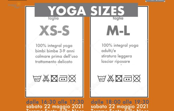 ALL YOGA SIZES WEEKEND  • Open Air