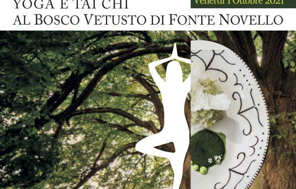 RITORNO ALLE ORIGINI • Yoga e Tai Chi al Bosco Vetusto di Fonte Novello